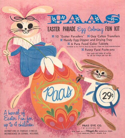 PAAS Easter Egg Coloring kit