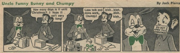 Uncle Funny Bunny and Chumpy